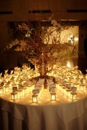 mini lanterns place card