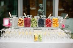 champagne bar fruit