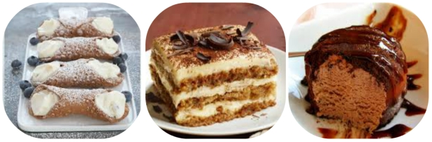 collage desserts catalinis