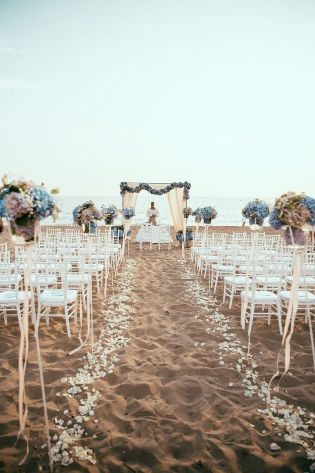 chuppah on beach