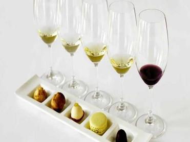 wine and dessert pairing