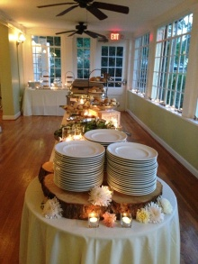 buffet table scapes 2