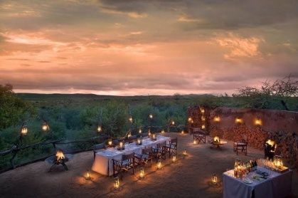 outdoor eating africa