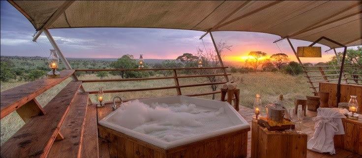 hot tub wedding blog